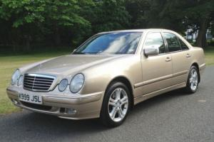 2001 Mercedes-Benz E430 4.3 V8 Auto Elegance - 48,000 MILES FROM NEW