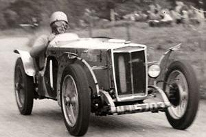 1934 MG PA PB vscc vintage special MMM race hillclimb prewar