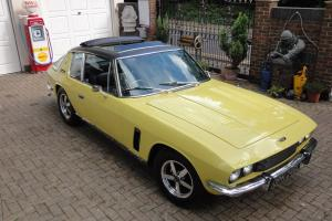 1972 JENSEN INTERCEPTER SP AUTO YELLOW THE BEST AND 59 LEFT