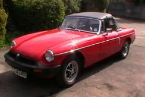 MGB Roadster extensively restored