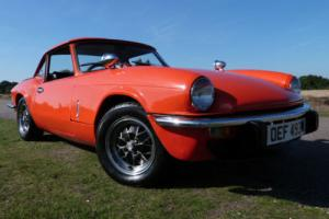 1980 Triumph Spitfire 1500 Sports/Convertible, Overdrive