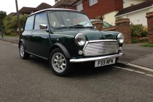 1989 Limited Edition British Racing Green Mini