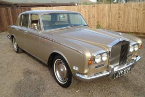 1972K Rolls Royce SIlver Shadow A lovely original Example 75k miles with History