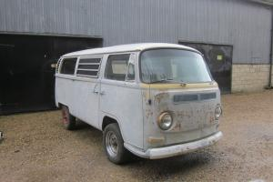 VW Type 2 1969 Sunroof Deluxe LHD Desert Bus Roller Excellent Project.