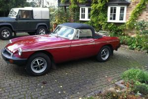 MGB ROADSTER incredible find one lady owner 30 yrs fantastic condition / history  Photo