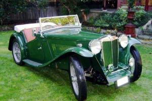 MG TA 1938 BRG AUSTRALIAN CONCOURSE WINNER.
