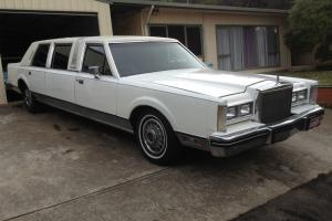 Lincoln Towncar Stretched Limo Classic Club Family Cruiser in Barwon, VIC