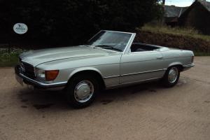 1972 MERCEDES 350 SL,PRIVATE PLATE,TAX EXEMPT,C/W HARD TOP,NEW MOT/TAX