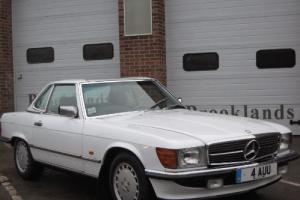 1988 Mercedes Benz 300SL 107 SERIES Photographic Restoration