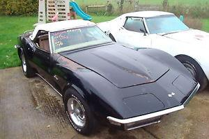 1970 CORVETTE 350 4-SPEED MANUAL CONV CHROME BUMPER  Photo