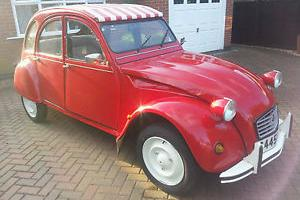 CITROEN 2 CV6 1985 SPECIAL , GALVANIZED CHASSIS , RESTORED WITH 12 MONTHS MOT