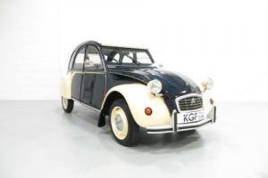 A French Built Citroen 2CV6 Dolly, Very Rare Bleu Nuit or