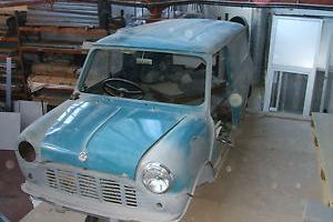 Classic 1969 Mini Van restoration project ( ex police, service history )  Photo