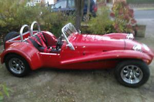 WESTFIELD wide body SE RED 1600cc kit car