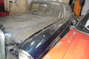 mercedes W111 220se coupe ,vintage ,classic, real,barn find ,restoration RARE