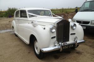 1953 Rolls Royce Silver Wraith James Young Limousine WITHOUT division