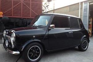 1998 Rover Mini Immaculate Black AND Lime Green