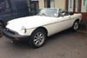 1978 MG ROADSTER IN WHITE VERY LOW MILES 34K IN GENUINE ORIGINAL CONDITION