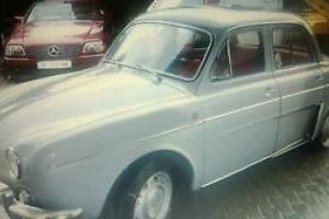 Renault Dauphine Ondine Gordini r 1091
