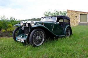 MG PA Tourer 1934