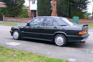 1989 MERCEDES 190E 2.5-16v BLACK Manual Cosworth