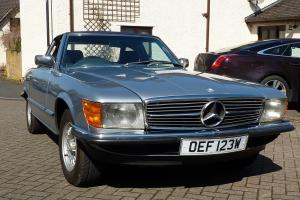 1980 MERCEDES 380 SL AUTO LIGHT BLUE METALLIC
