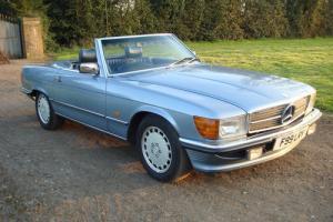 1988 MERCEDES 300 SL AUTO BLUE 98K MILES FSH