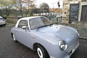 Lovely Nissan Figaro in Lapis grey