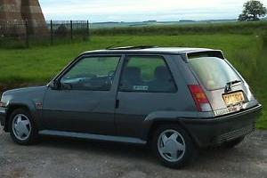 1989 Renault 5 GT Turbo un-molested original example