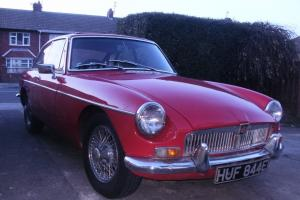 1967 MGB GT IN TARTAN RED