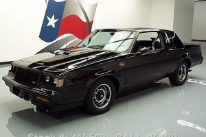 1987 BUICK REGAL GRAND NATIONAL 3.8L TURBO V6 ONLY 57K TEXAS DIRECT AUTO