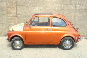 Classic/ Vintage Fiat 500 Right Hand Drive, Tax Exempt
