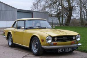 TRIUMPH TR6 - UK CAR WITH OVERDRIVE AND MANY UPGRADES