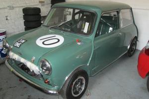 mini cooper s fia historic race car