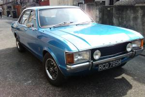 Ford Consul Mk1 Granada manual,new engine classic car