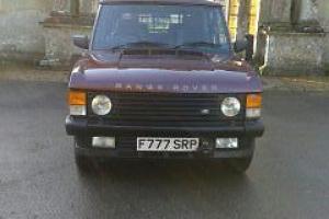 1988 RANGE ROVER CLASSIC VOGUE EFI AUTO .