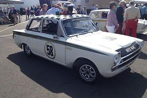 Lotus Cortina FIA Race Car, EX Press Car