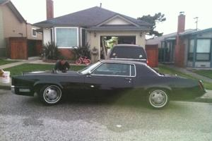 1967 cadillac eldorado all black, all clean
