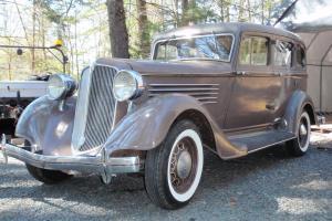 1934 Chrysler CA Sedan - Solid Original Car