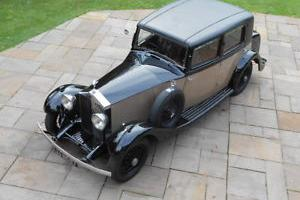 1933 ROLLS ROYCE 20 25 BARKER SPORTS SALOON