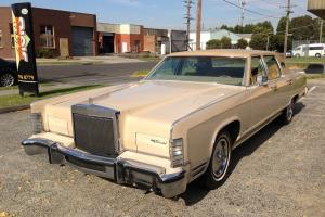 1979 Lincoln Continental Cartier Edition V8 Automatic RWC NOT Holden Caddilac in Melbourne, VIC