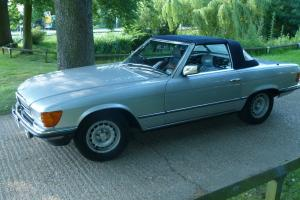 1981 MERCEDES 380 SL 102000 MILES FULL SERVICE HISTORY