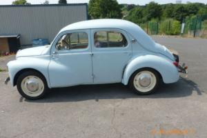 Renault 4 CV LIGHT BLUE FOUR FREE ROAD TAX