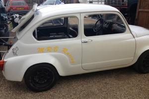 Race Abarth special 2ltr Twin Cam mid mounted flying machine.