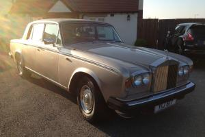 1978 ROLLS ROYCE SHADOW 11 2 GOLD/BEIGE PRIVATE PLATE MOT 29/11/2014 TAXED MAY14