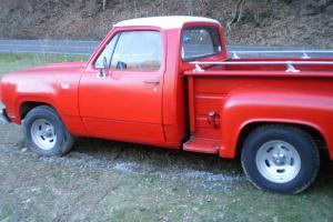 1974 Dodge Custom Dakota Ram Pickup Truck