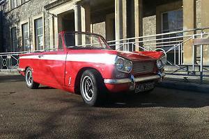 triumph vitesse mk1. genuine convertible, complete ground up resto.