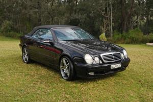 Mercedes CLK430 Avantgarde 2001 V8 Auto Convertible in Sydney, NSW
