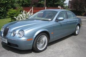 2006 JAGUAR S-TYPE SE DIESEL AUTO BLUE