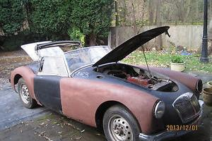 PROJECT 1956 MGA Roadster 1500 - Left hand Drive Amercian Import